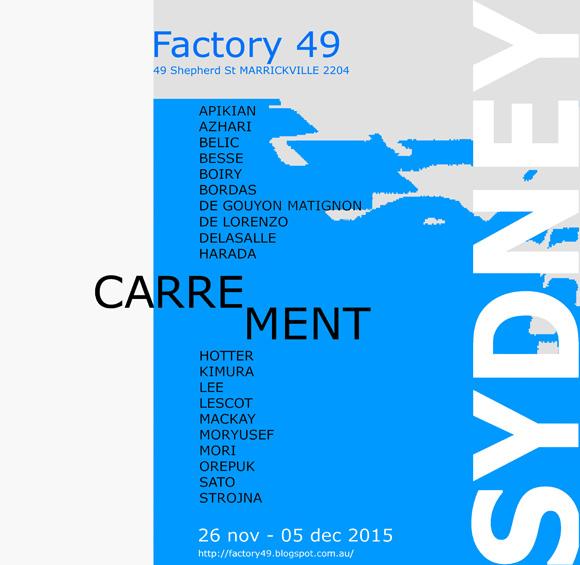 CARREMENT-SYDNEY-Invitation